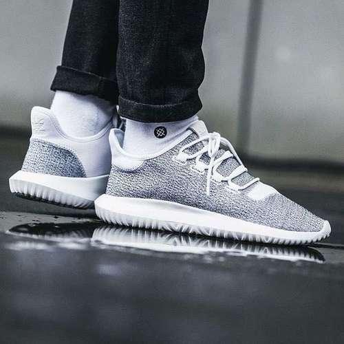 designer fashion 0228a 700b6 adidas Tubular Shadow Shoes Men's Cloud White/Grey$49.99- DealAm