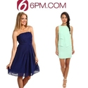 6pm: Select Women's Dresses Under $50