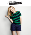 J.Crew Factory: 50% OFF Shorts & Swim