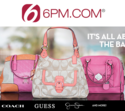 6pm: Up to 70% OFF Coach & More Designer Bags