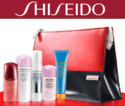 SHISEIDO: Free 6-Piece Skincare Set with Any Two or More Skincare Purchase