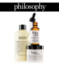 philosophy: 20% OFF Sitewide