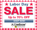 CowBoom: Up to 70% OFF Labor Day Sale