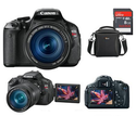 Best Buy: Canon EOS Rebel T3i单反相机套装 $499.99-749.99