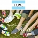 TOMS Shoes: 订单满$25立减$5