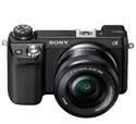 Sony 索尼 NEX-6L/B 微单数码相机 + 16-50mm镜头