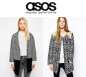 ASOS: Up to 60% OFF Coats