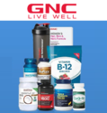 GNC: $9.99 Hot Sale + $3.99 Shipping