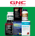 GNC: Select Best Sellers Only for $14.99