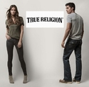 True Religion: 精选男女式牛仔裤享 25% OFF