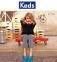 Keds: 订单满$100即赠Keds袜子