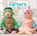 Carters: 万圣节儿童化装服等折扣高达60% OFF
