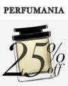 Perfumania: 全场享25% OFF+满$50立减$20