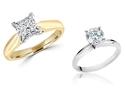 1.00 CTW Certified Diamond Ring in 14K Gold