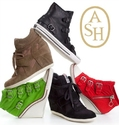 Saks OFF 5TH: Up to 68% OFF Ash Wedge Sneakers Sale