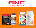GNC: Buy 1 Get  1 Free On Select Items