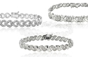 1/2 CTTW Diamond Tennis Bracelet