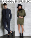 Banana Republic: 50% OFF Select Styles + 40% OFF the Rest of Your Purchase
