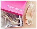 购买kate spade 鞋履可享25% OFF