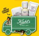 Kiehls: 任意订单即可获3个豪华小样且免运费