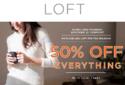 LOFT: 全部商品享50% OFF