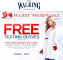 The Walking Company: 任意订单赠触屏手机专用手套