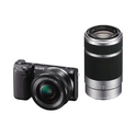 Sony NEX-5TL HD Digital Camera 55-210mm & 16-50mm 2 lens bundle bag