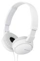 Sony MDRZX110 立体声耳机白色