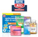 Rite Aid: BOGO or BOGO 50% OFF Rite Aid Brand Product Sale