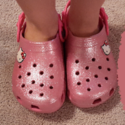 Crocs Kids' Hello Kitty Glitter Clog