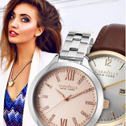 Buy 2 Caravelle NY Watches for $69.99 + Free Shipping