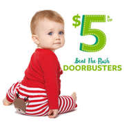 Carters has $5 & Up Doorbusters Sale. Free Shipping on orders over $50.