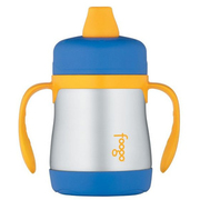 Amazon has THERMOS FOOGO Vacuum Insulated Stainless Steel 7-Ounce Soft Spout Sippy Cup for $11.40. Free Shipping on orders over $35 & Free Returns.