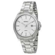 Last day valid! Ashford has Seiko Men's Dress Watch SUR067 for $55 after applying coupon code: DNDRES55. Shipping is free.