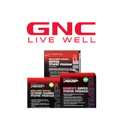 Last day valid! GNC has Buy One Get One 50% OFF GNC Amp Vitapak Programs. Shipping is free with code FREESHIP.