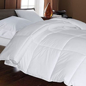 Hotel Suite White Goose Down and Feather Comforter
