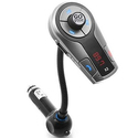 GOgroove FlexSMART X2 Bluetooth Wireless In-Car FM Transmitter with USB Charging