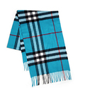 Burberry Cashmere Check Scarves 50% OFF