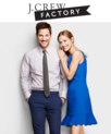 J.Crew Factory : Up to 50% OFF Everything