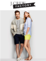 J.Crew Factory: Extra 30% OFF Everything + Free Shipping