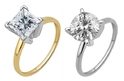 0.75 CTW - 2.00 CTW Certified Diamond Solitaire Rings in 14K Gold