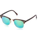 Ray-Ban Clubmaster Classic Sunglasses, Black/Green Classic G-15 Lens, 51