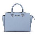 Michael Kors Selma Top Zip Satchel Handbag