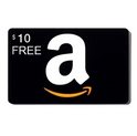 Amazon: Free $10 Credit with $50 Amazon Gift Card Purchase