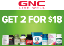 2 For $18 on Select Wellness Essentials