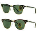 Ray Ban RB3016 Clubmaster Sunglasses (G-15XLT Lens) - 49mm