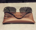 Ray-Ban Wayfarers or Aviators Sunglasses
