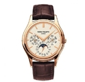 Patek Philippe Grand Complications Silver Dial 18kt Rose Gold Men's Watch 5140R-011