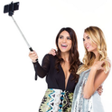 SwissTek Selfie Stick with Built in Shutter Remote