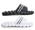 Swiss Wear Deluxe Comfort Massage Slippers Slides